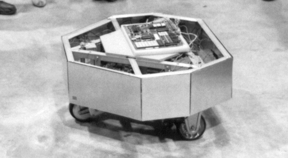 Microtron robot in 1983