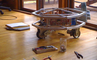 Microtron robot