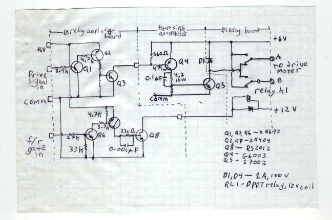 1980-ish speed control circuit diagram